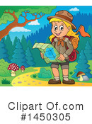 Royalty-Free (RF) Hiking Clipart Illustration #1450305