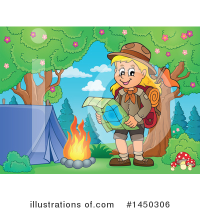 Hiking Clipart #1450306 by visekart
