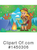 Royalty-Free (RF) Hiking Clipart Illustration #1450306