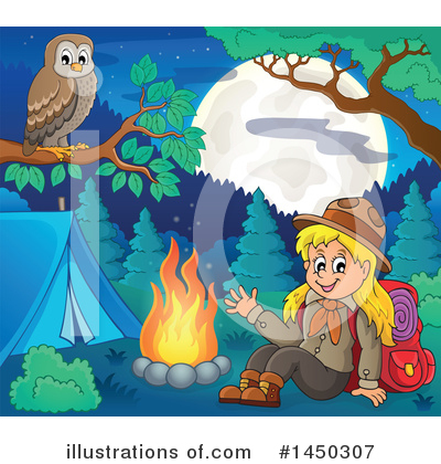 Camping Clipart #1450307 by visekart