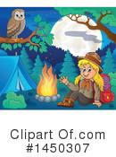 Royalty-Free (RF) Hiking Clipart Illustration #1450307