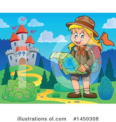 Hiking Clipart #1450308 by visekart