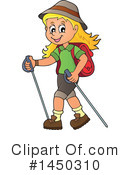Royalty-Free (RF) Hiking Clipart Illustration #1450310