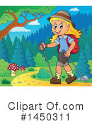 Royalty-Free (RF) Hiking Clipart Illustration #1450311