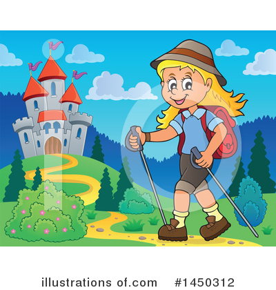 Hiking Clipart #1450312 by visekart