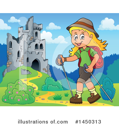 Hiking Clipart #1450313 by visekart