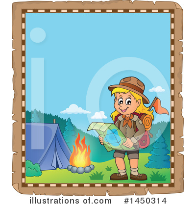 Hiking Clipart #1450314 by visekart