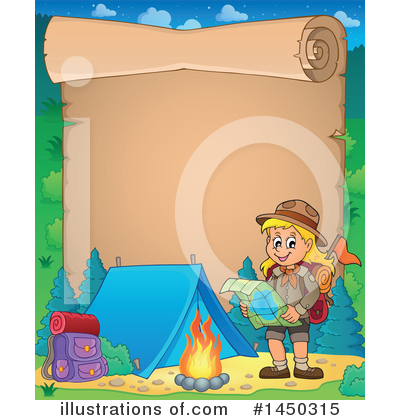 Royalty-Free (RF) Hiking Clipart Illustration by visekart - Stock Sample #1450315