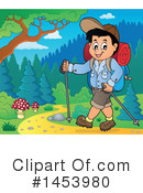 Royalty-Free (RF) Hiking Clipart Illustration #1453980