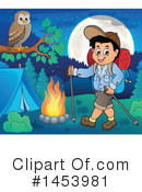 Royalty-Free (RF) Hiking Clipart Illustration #1453981