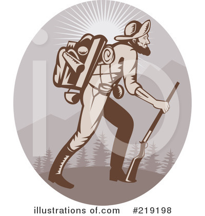 Hiking Clipart #219198 by patrimonio
