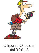 Royalty-Free (RF) Hiking Clipart Illustration #439018