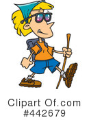 Royalty-Free (RF) Hiking Clipart Illustration #442679