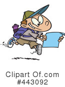 Royalty-Free (RF) Hiking Clipart Illustration #443092