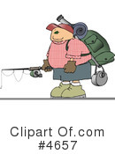 Royalty-Free (RF) Hiking Clipart Illustration #4657