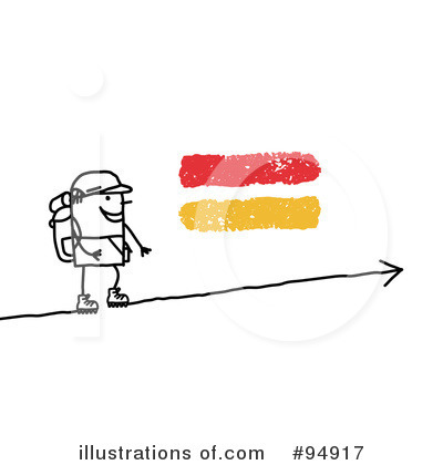 Hiking Clipart #94917 by NL shop