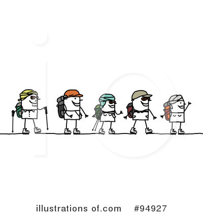 Hiking Clipart #94927 by NL shop