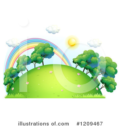Rainbow Clipart #1209467 by Graphics RF
