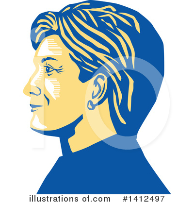 Democrat Clipart #1412497 by patrimonio