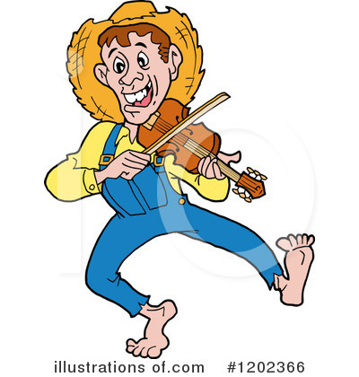 Hillbilly Clipart #1202366 by LaffToon