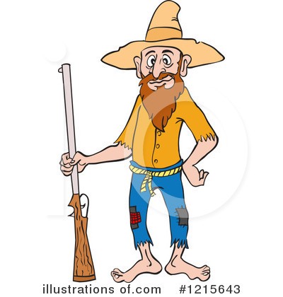 Hillbilly Clipart #1215643 by LaffToon