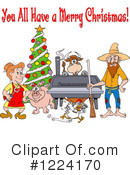 Hillbilly Clipart #1224170 by LaffToon