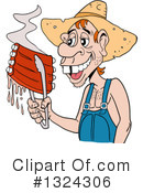 Hillbilly Clipart #1324306 by LaffToon
