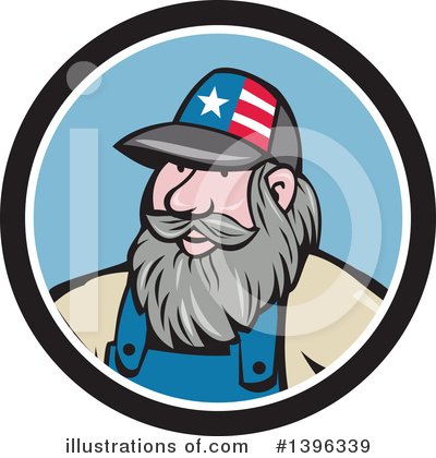 Hillbilly Clipart #1396339 by patrimonio