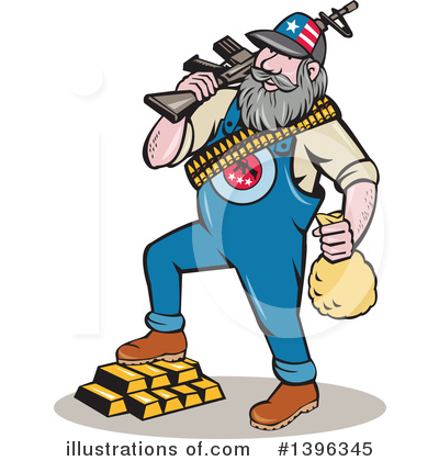 Hillbilly Clipart #1396345 by patrimonio