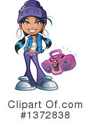 Royalty-Free (RF) Hip Hop Clipart Illustration #1372838