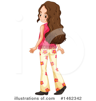 Hippie Clipart #1462342 by Graphics RF