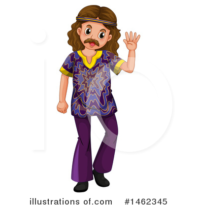 Hippie Clipart #1462345 by Graphics RF