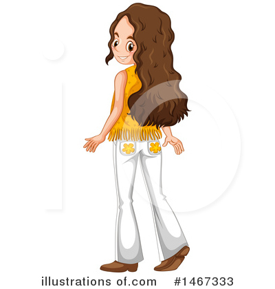 Hippie Clipart #1467333 by Graphics RF