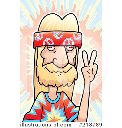 Hippie Clipart #218789 by Cory Thoman