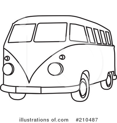 van black and white clipart - photo #28