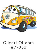 Hippie Van Clipart #77969 by Snowy