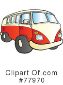Hippie Van Clipart #77970 by Snowy