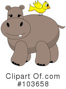 Hippo Clipart #103658 by Pams Clipart