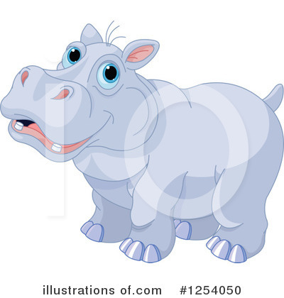 Hippopotamus Clipart #1254050 by Pushkin