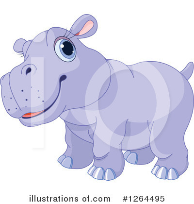 Hippopotamus Clipart #1264495 by Pushkin