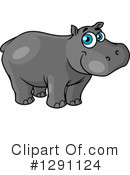 Hippo Clipart #1291124 by Vector Tradition SM