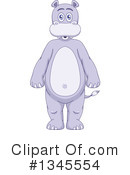 Hippo Clipart #1345554 by Liron Peer