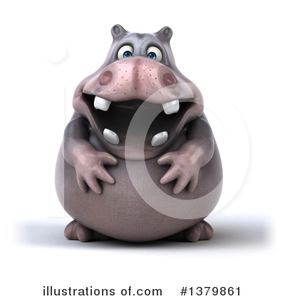 Hippo Clipart #1379861 by Julos
