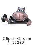 Hippo Clipart #1382901 by Julos