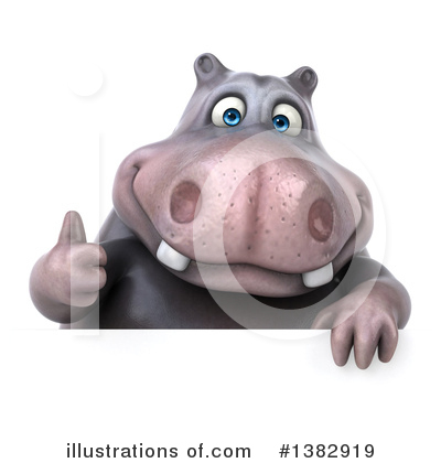 Hippo Clipart #1382919 by Julos