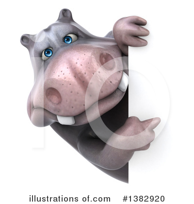 Hippo Clipart #1382920 by Julos