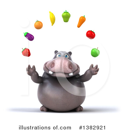 Hippo Clipart #1382921 by Julos