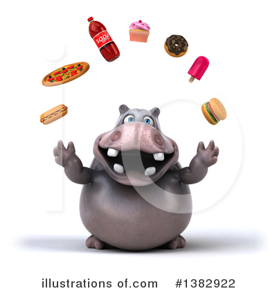 Hippo Clipart #1382922 by Julos
