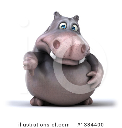 Hippo Clipart #1384400 by Julos
