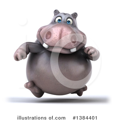 Hippo Clipart #1384401 by Julos